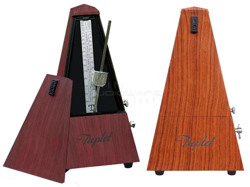 m tronome m canique tuplet pyramide imitation bois vintage ebay. Black Bedroom Furniture Sets. Home Design Ideas
